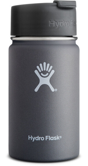 Hydro Flask Wide Mouth Coffee Bottle 12oz (355ml) Graphite
